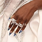 Cynthia Erivo's Starry Night Manicure at the 2020 Oscars