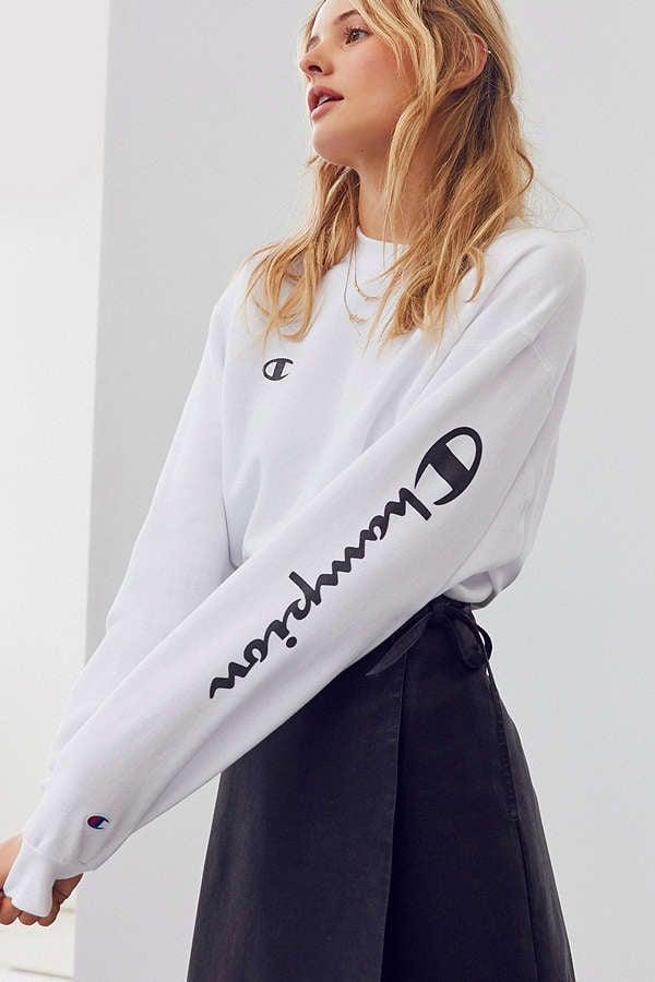 Champion & UO Powerblend Crew-Neck Sweatshirt ($55)
