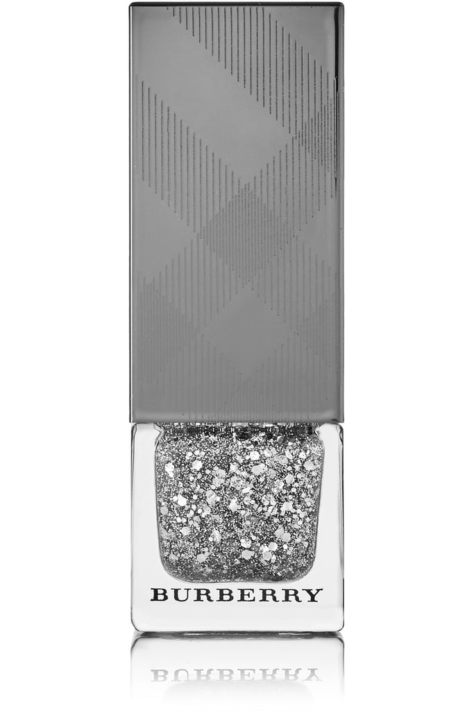 Burberry Beauty Nail Polish in Silver Glitter No.453