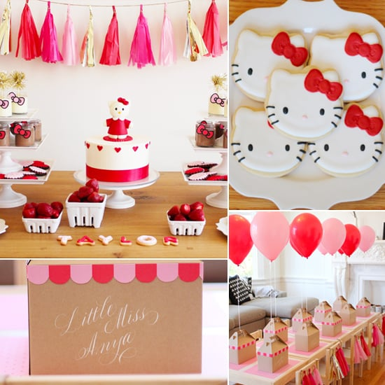 Birthday Parties: A Modern Hello Kitty Second Birthday Party