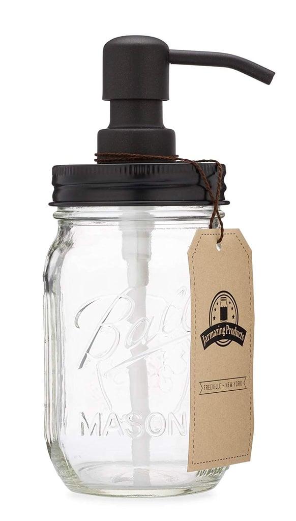Jarmazing Products Mason Jar Soap Dispenser