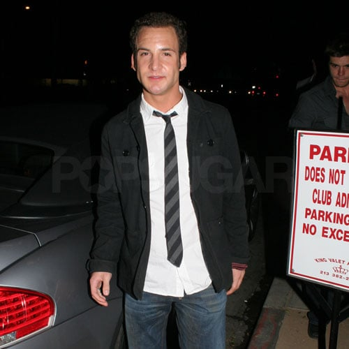 Ben Savage Parties in LA
