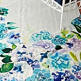 Sarah Hackinson Pansies Indoor/Outdoor Rug
