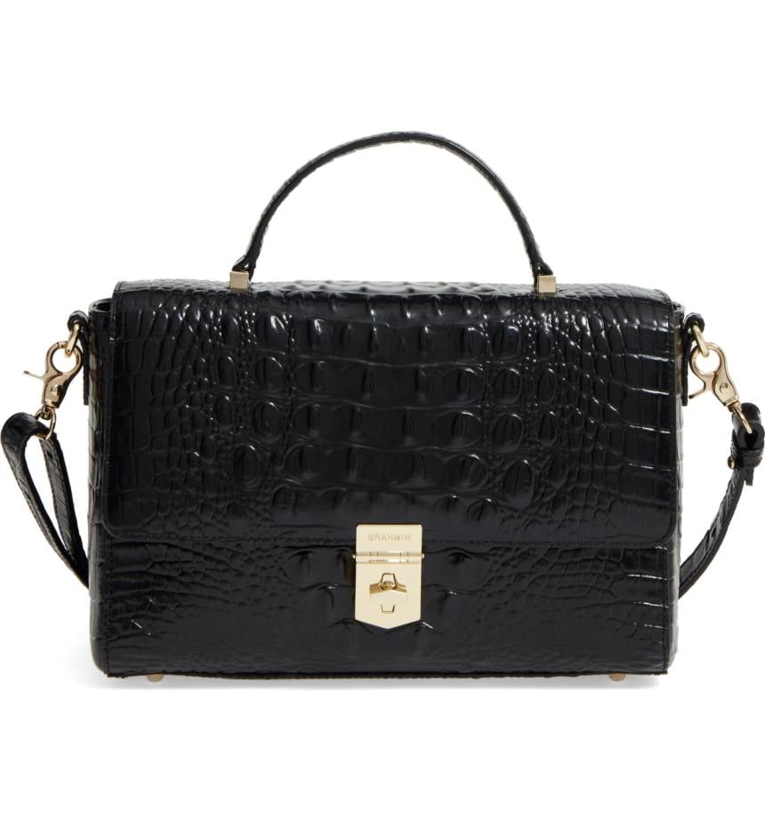 Brahmin Danielle Leather Satchel