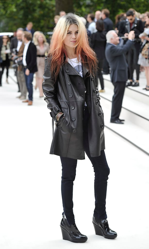 Alison Mosshart at Burberry