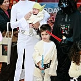 Natalie Morales and Sons Luke and Josh