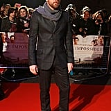 Ewan McGregor debuted The Impossible.