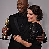 Pictured: Mahershala Ali and Adele Romanski