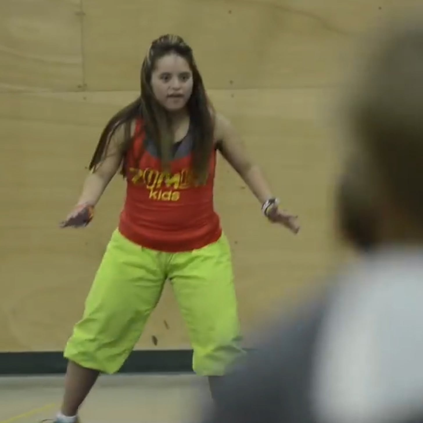 w down syndrome becomes zumba teacher video popsugar w down syndrome becomes zumba teacher video fitness