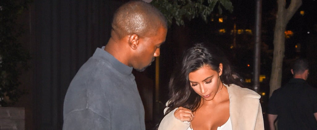 Even Kanye West Can't Look Away From Kim Kardashian's Cleavage