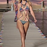 Then, She Appeared in Swimwear For Tommy's Spring 2016 Collection