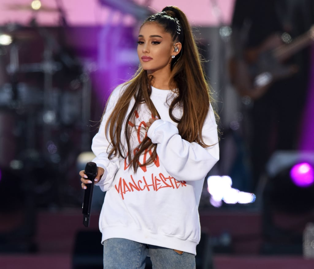 Ariana Grande Sweetener Tribute to Manchester Attack Victims