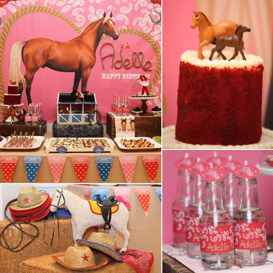 Cowgirl and Horse Birthday Party POPSUGAR Moms