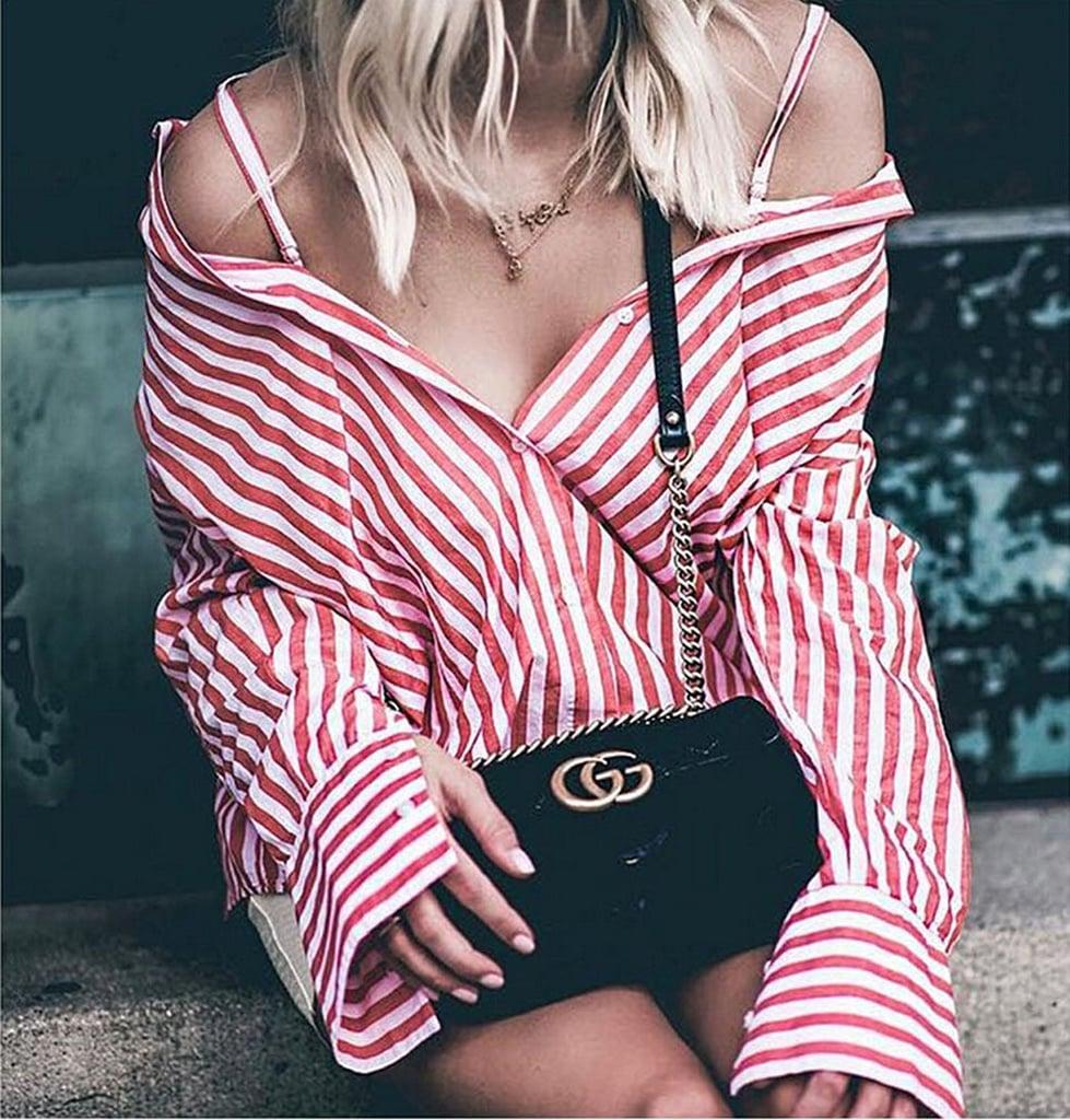 USGreatgorgeous Striped Blouse