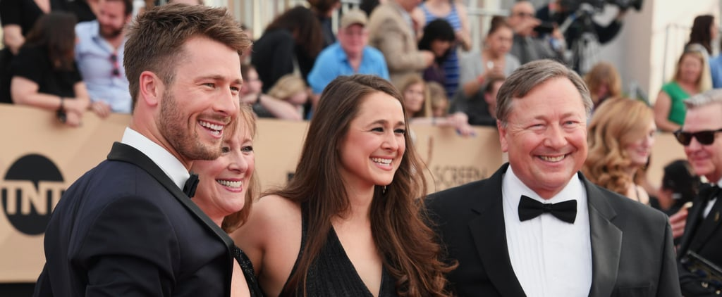 No One Had More Fun at the SAG Awards Than Glen Powell and His Family (We Repeat: NO ONE)