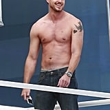 Photos of Shirtless Eric Dane in LA