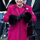 Queen Elizabeth II at Ravenswood Village in 2008.