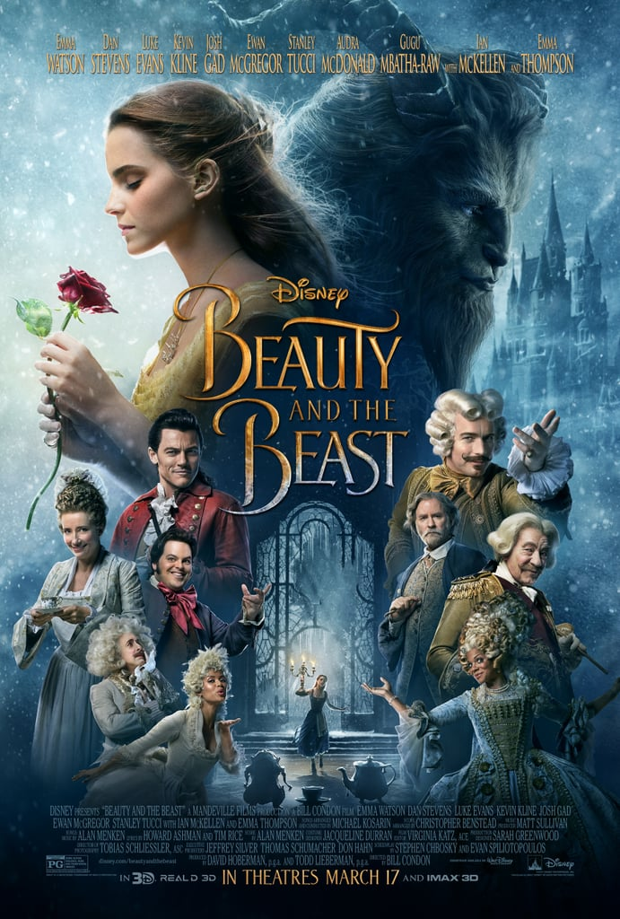 Resultado de imagen de beauty and the beast movie poster