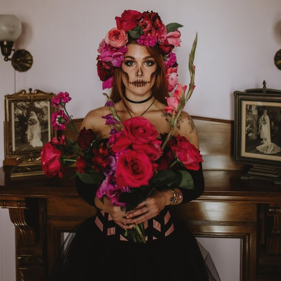 This Skeleton Bridal Shoot Will Give You All the Chills