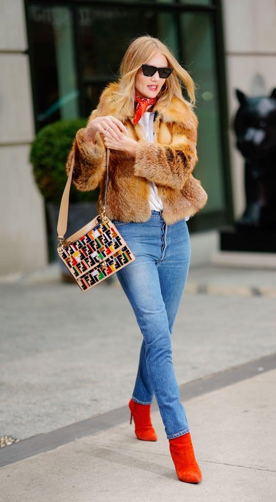 Rosie Huntington-Whiteley Fendi Bag