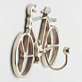 Gold Bicycle Wall Hook