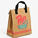 Pop's Chock'lit Shoppe Insulated Lunch Sack