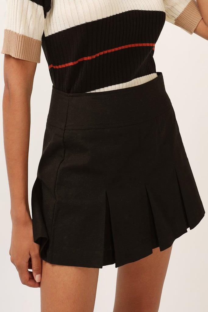 Storets Kylie Side Tab Pleated Skirt