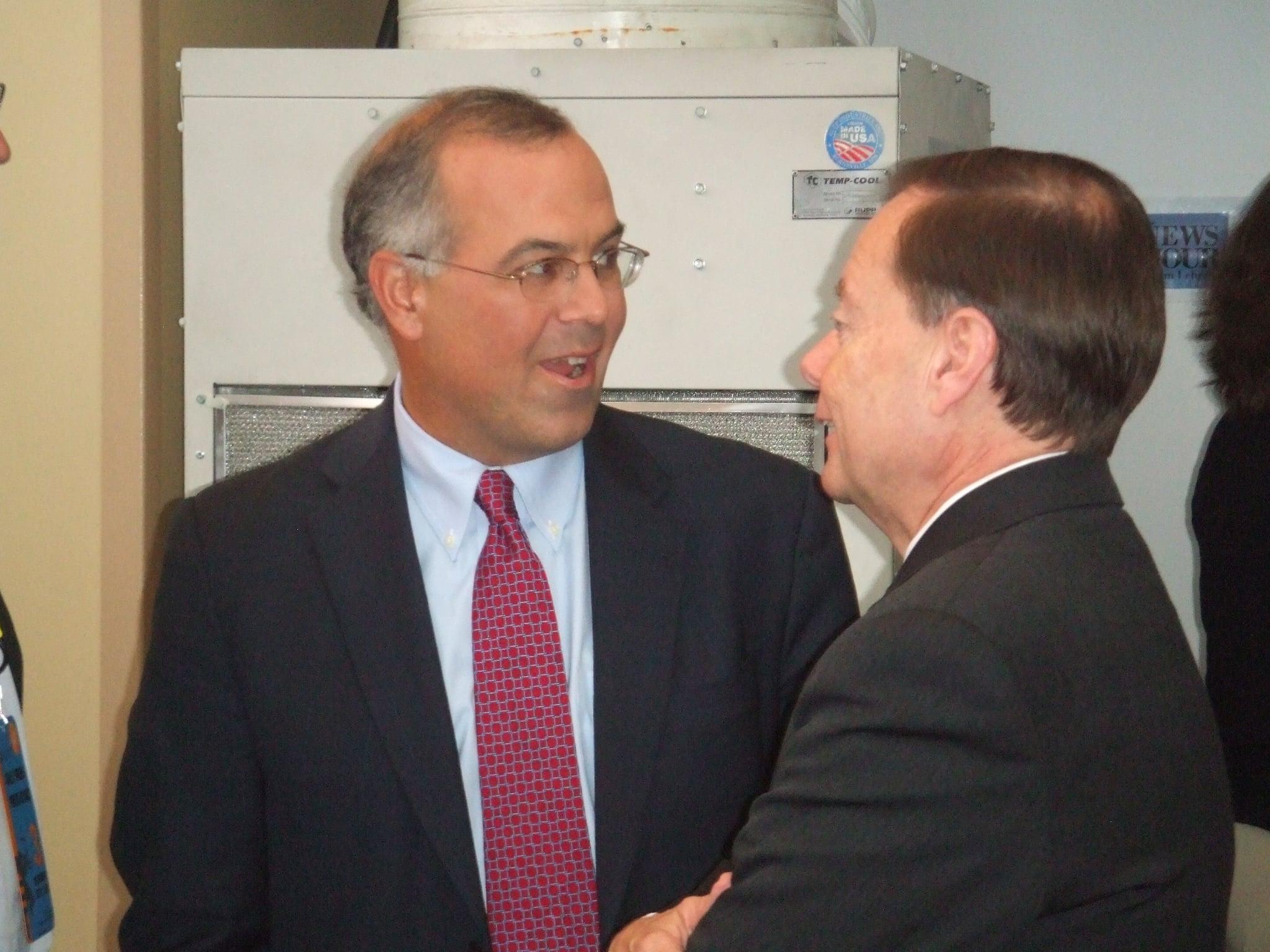 David Brooks and Gary Bauer.