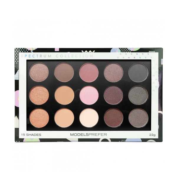 Models Prefer Spectrum Collection Eyeshadow Palette ($15) The eyeshadow palette offers 15 versatile shades and is perfect for any makeup aficionado.
