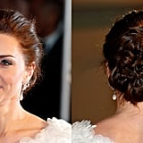 Kate Middleton's Intricate Updo, 2019