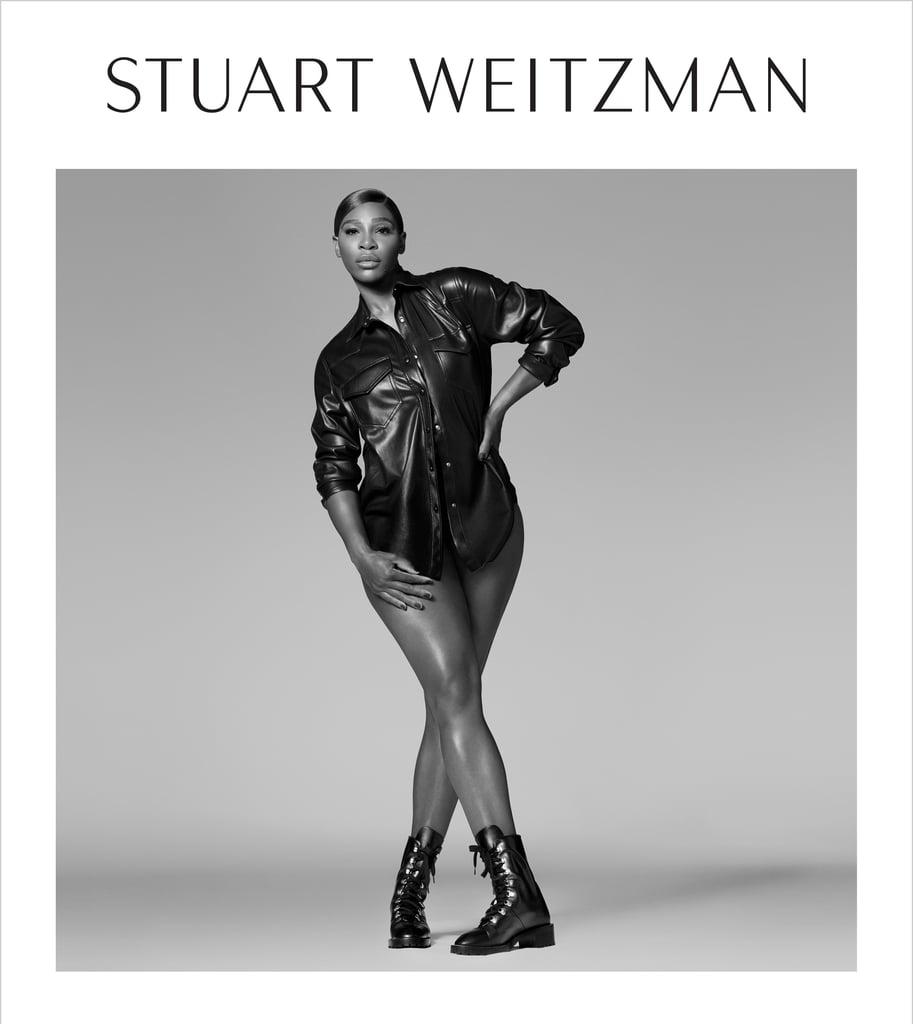 Serena Williams Stars in Stuart Weitzman's Fall Campaign