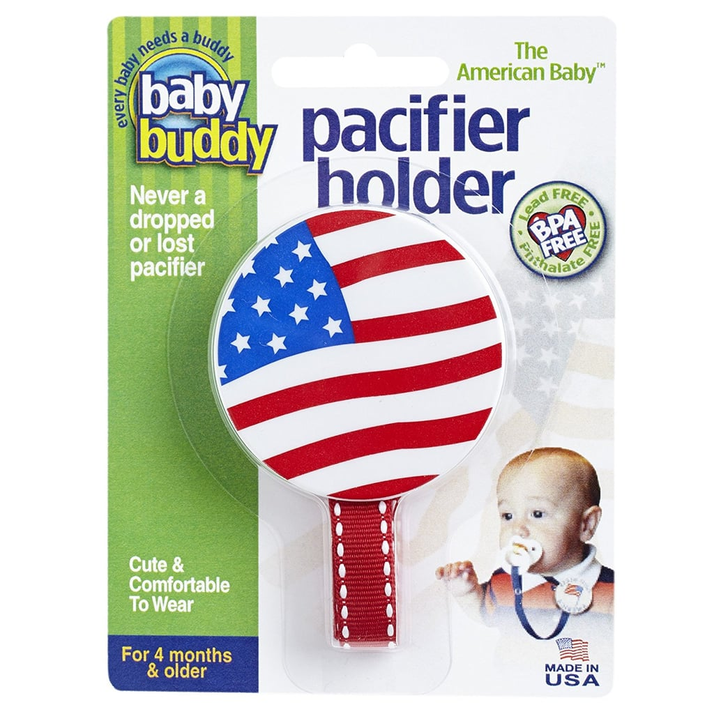 Flag Pacifier Holder