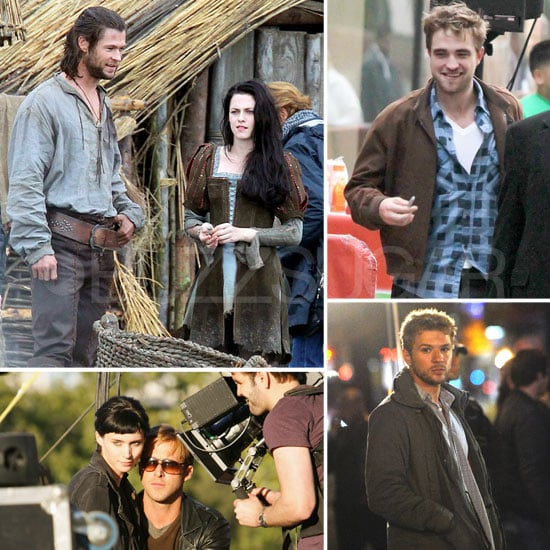 Robert Pattinson, Kristen Stewart, Ryan Gosling, and More Stars on Set This Week!