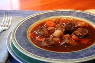 """Tough Little Nuggets"" Irish Stew"
