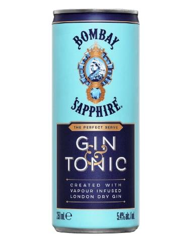 Bombay Sapphire Gin & Tonic 10 Pack