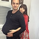 Looks like big changes may be on the horizon for New Girl's Nick. Source: Twitter user markjakejohnson