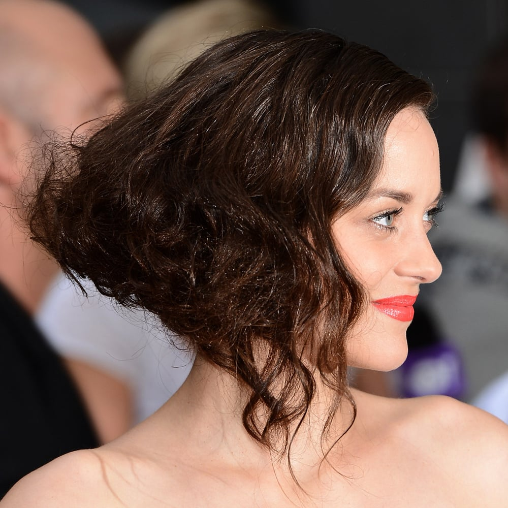 Marion Cotillard S Bright Orange Lip Was A Stand Out At The
