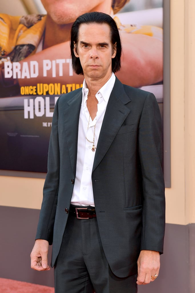 Nick Cave at the Once Upon a Time in Hollywood LA premiere.