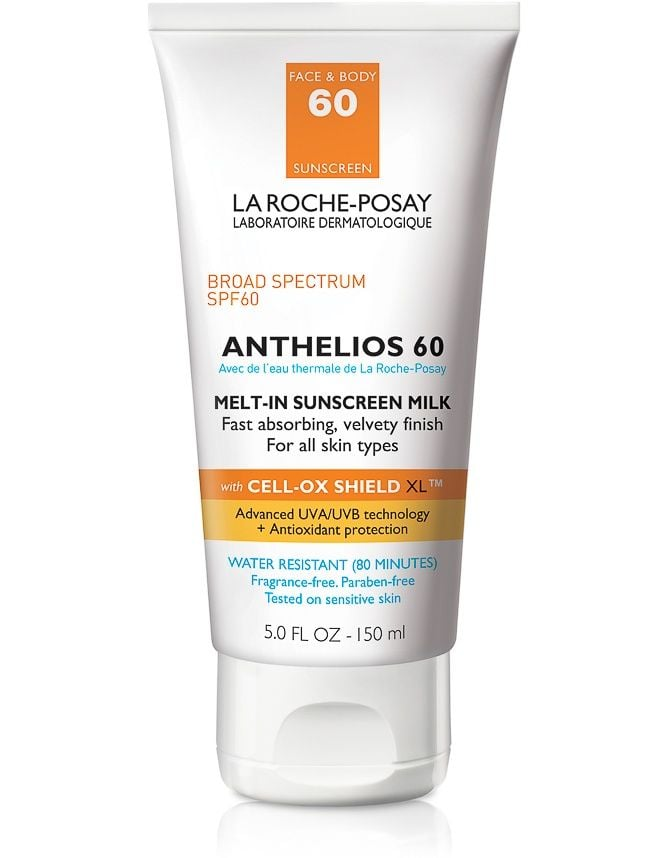 #1 Lotion: La Roche-Posay Anthelios 60 Melt-In Sunscreen Milk