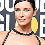 Caitriona Balfe Wearing Chanel at the 2018 Golden Globes
