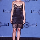 Ashley Judd wore a slip.