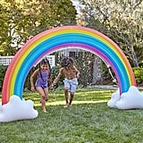 Inflatable Rainbow Sprinkler Popsugar Family