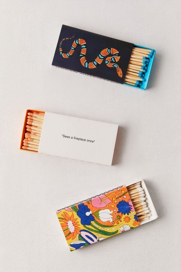 UO Graphic Strike Matches