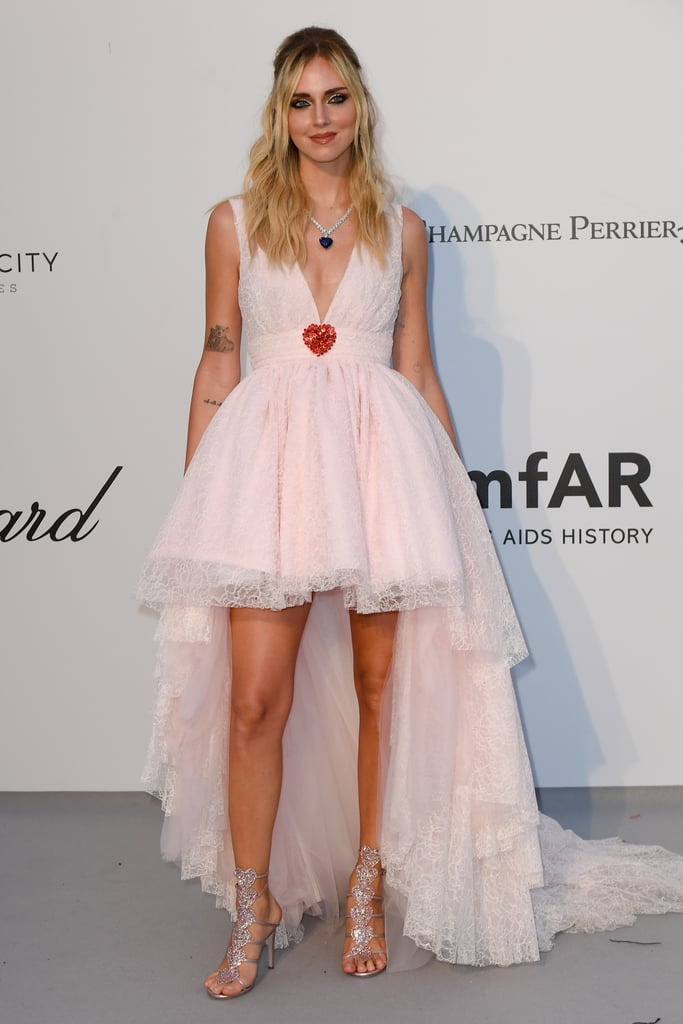 Chiara Ferragni at the amfAR Cannes Gala