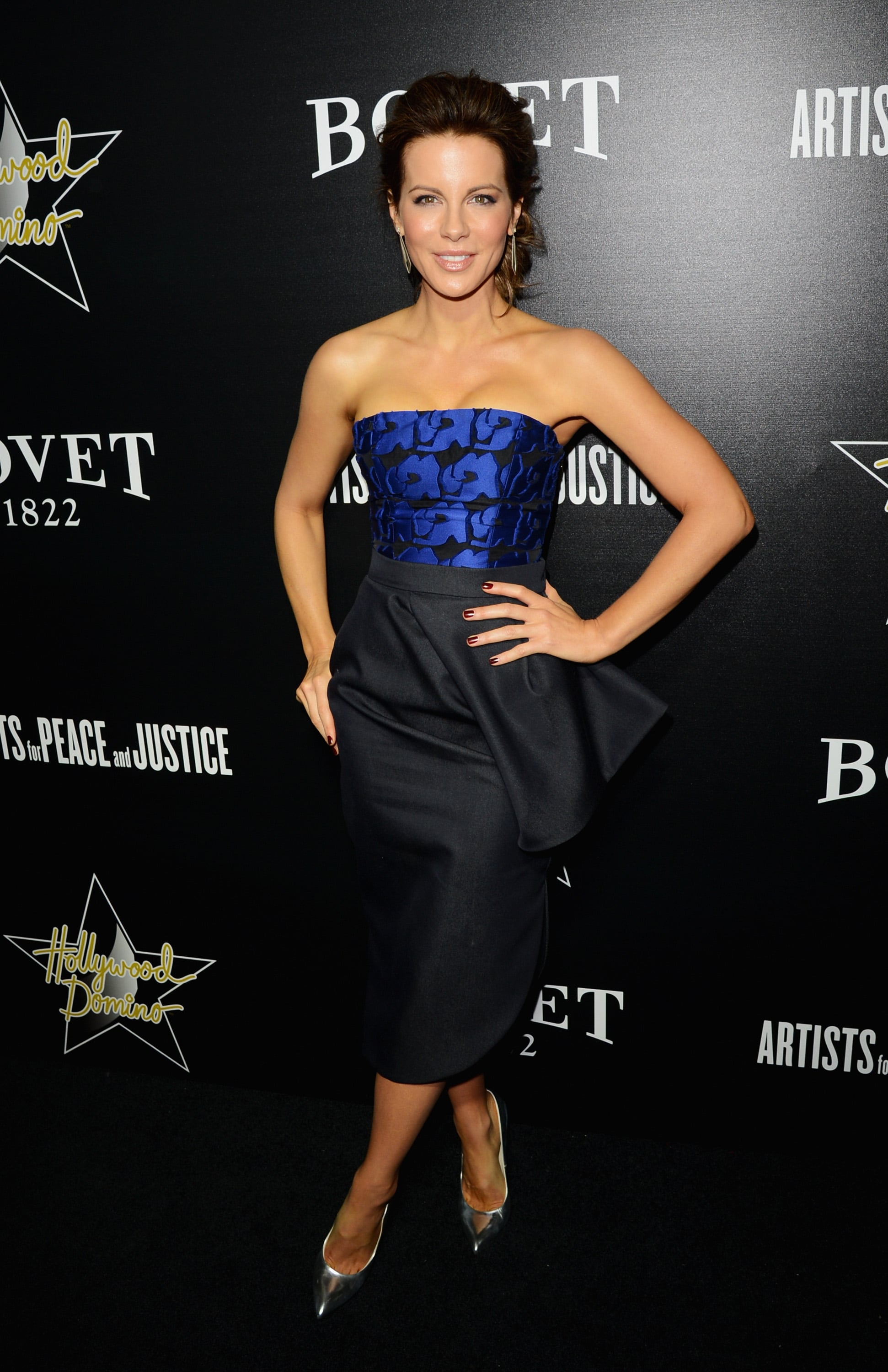 Kate Beckinsale at the Hollywood Domino and Bovet 1822 Gala