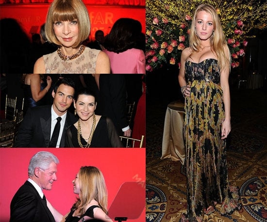 Pictures of Blake Lively, Anna Wintour, and More at President Clinton's 2011 AmfAR Party