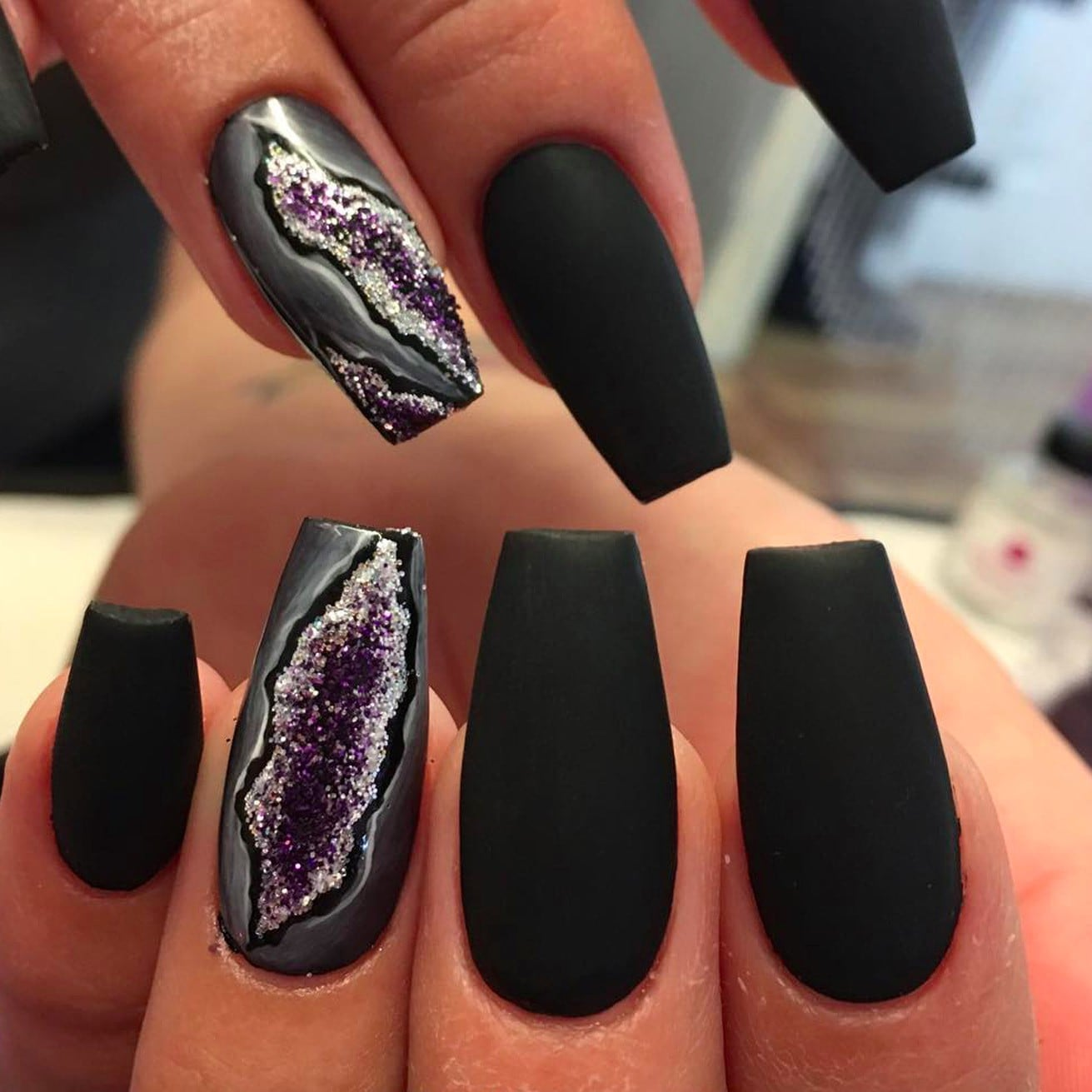 Geode Nail Trend | POPSUGAR Beauty Australia