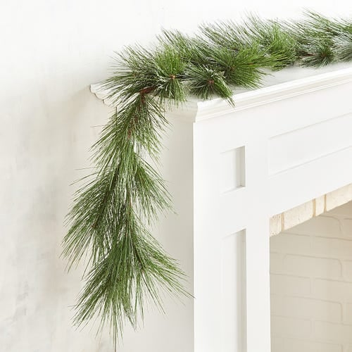 Green Faux Pine 6' Garland