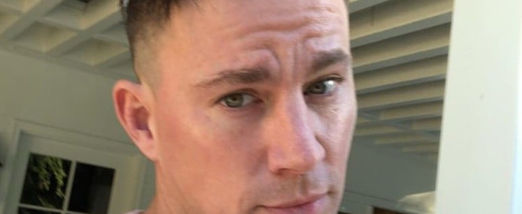Channing Tatum Making Slime With His Daughter