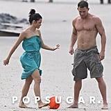 Channing Tatum and Jenna Dewan Beach Pictures 2014